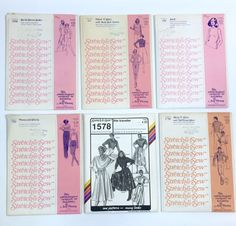 Vtg Stretch & Sew 70s Patterns Ann Person Uncut 313 350 700 1050 1578 1750 Lot  | eBay