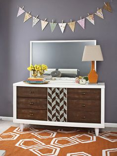 Thrift stores and garage sales are ripe with budget-friendly finds, but often what you score secondhand needs a little TLC: http://www.bhg.com/decorating/makeovers/furniture/before-and-after-furniture-makeovers/?socsrc=bhgpin111714personalitypacked&page=7