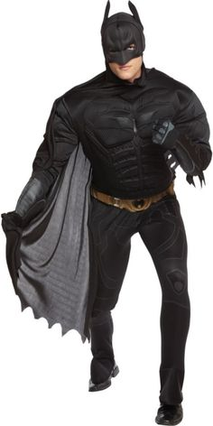 Deluxe Muscle Adult Dark Knight Batman Costume | Batman halloween costume Batman halloween and Dark knight  sc 1 st  Pinterest & Deluxe Muscle Adult Dark Knight Batman Costume | Batman halloween ...