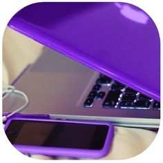 df3afe29eca Purple apple electronics <3 Purple Things, Girly Things, Apple Products,  Pink