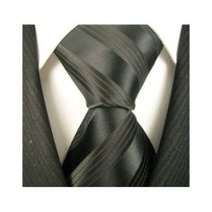 Neckties by Scott Allan, Formal Black Stripe Neckties