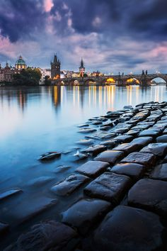 Praha , Czech republic , Charles bridge  www.Music2Meditate.org offers a selection of relaxing and soothing music playlists to use as an aid to meditate, yoga and sleep