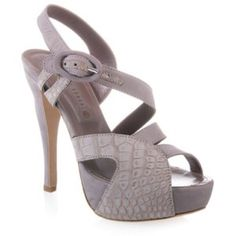BEHNAZ KANANI NEENA GREY/ROSE ALIGATOR - 8 BEHNAZ KANANI NEENA GREY/ROSE ALIGATOR - size 38.       Beautiful hand made shoes in Italy. Limited edition #3 of 11 worldwide for those of who sense the finest if details. Only worn once. Behnaz Kanani Shoes Heels
