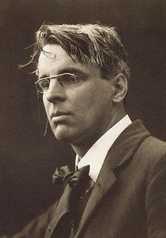 William Butler Yeats has a certain Steve Martin vibe in this picture.