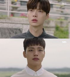 "[Spoiler] ""Reunited Worlds"" Ahn Jae-hyun discovers Yeo Jin-goo's identity Ahn Jae Hyun, Jin Goo, Korean Entertainment News, My Love From The Star, New Actors, Seoul Fashion, New Star, Seong, Sci Fi Fantasy"