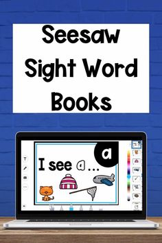 E Learning, Learning Sight Words, Sight Word Activities, Blended Learning, Learning Activities, Sight Word Book, Sight Word Readers, Preschool Sight Words, Transportation Activities