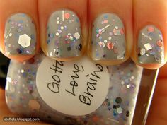 Hmmm I wonder if I can make my own glitter nail polishes and package them with a matte nail polish and give as gifts...