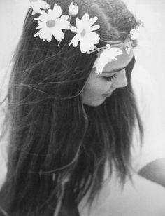 Daisy hair wreath!