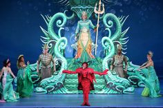 Starlight Theatre's Disney's The Little Mermaid All trails the same color