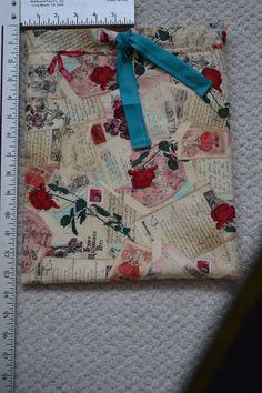 Rose Themed Drawstring Bag  Drawstring Bag by Iwillholdthatbags