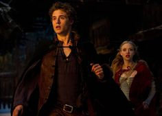 Max Irons (Henry) and Red Riding (Siegfried)