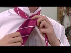 How to Tie a Tie - Half-windsor and Windsor