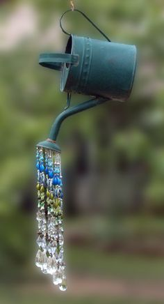 Watering Can Sun Catcher Sun Catcher Suncatcher Crystal Sun