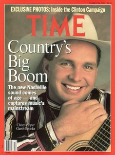 Garth Brooks TIME ISSUE DATE: Mar. 30, 1992