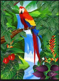 Resultado de imagen de cuadros tropicales