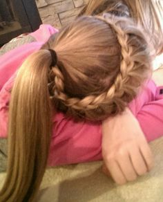 Volleyball hair If you are trying to find hairstyles that may allow you to comfortable Volleyball Hairstyles, Sporty Hairstyles, Braided Bun Hairstyles, Fancy Hairstyles, Wedding Hairstyles, Athletic Hairstyles, Braided Buns, Workout Hairstyles, Princess Hairstyles