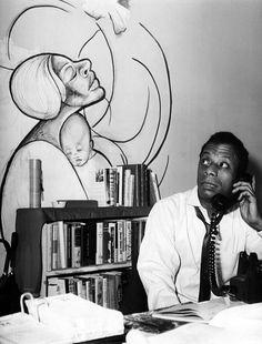 James Baldwin, 1963 Photograph