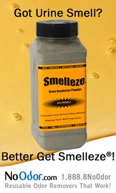Smelleze Natural Urine Smell Remover Rids Strong Odor Without Fragrances It S Eco