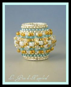 beaded bead or ring