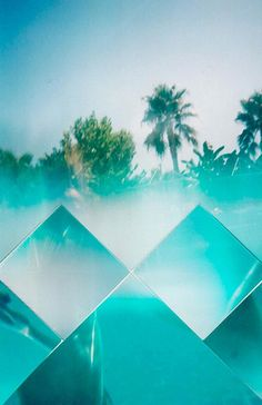 chillwave pyramid prism glass