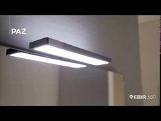 Uutuus Paz-kylpyhuonevalaisin on ulkoasultaan moderni, kromattu IP44 ledvalaisin. Valon väri 4000K, Paz valaisee myös ylöspäin! #Paz #Ebir #Ebir360 #kylpyhuone #kylpyhuonevalaisin #IP44 #4000K #valaisin #tukkumyynti #helatukku Wall Lights, Lighting, Home Decor, Appliques, Decoration Home, Room Decor, Lights, Home Interior Design, Lightning