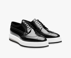 purchase cheap bfdab 4be8d 2EG015 P39 F0002 F X004 zapato con cordones - Footwear - Man - eStore    Prada.com