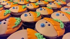 My Little Pumpkin Baby Shower Cupcakes                                                                                                                                                      More