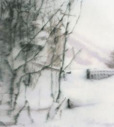 Gerhard Richter, Schnee (Snow), Oil on canvas, 1999