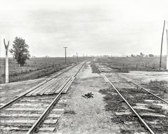 "Circa 1904. ""Track straightening near Coal City, Illinois.""  Shorpy Historic Picture Archive"