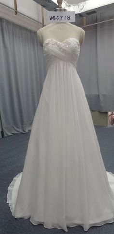 You can have white evein ggowns made to order for your wedding dress. We are US dressmakers who specialize in custom wedding gowns & #replicas of couture designer dresses. We can make a design that is inspired by your favrote dream dress. And if it is a couture style we can replicate it for far less than the original. Email us for pricing. DariusCordell.com