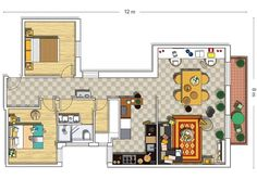 Un piso luminoso y fresco ¡La reforma 10!