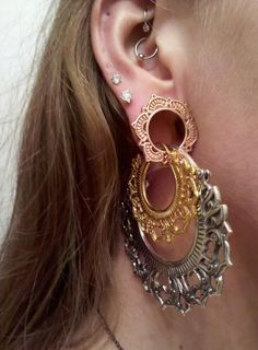 I don't usually like large gauged lobes, but this is actually quite interesting...
