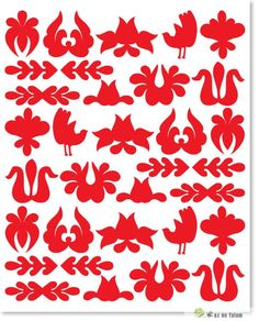 Stitcher's Revolution Iron-On Transfer Pattern for Embroidery, Raining Cats and Dogs - Embroidery Design Guide Hungarian Embroidery, Folk Embroidery, Hand Embroidery Designs, Embroidery Patterns, Diy And Crafts, Arts And Crafts, Vine Tattoos, Planer, Design Elements
