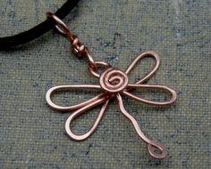 copper wire pendant jewellery - Google Search