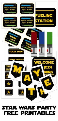 This post contains affiliate links for your convenience. One of my most popular posts of all time was the post I did on my son's Lego Star Wars themed birthday party! I put together a free printable pack of favors, signs, games and menu cards that I honestly didn't put much thought into at the time. I have been blown away by the attention it has received over the past couple