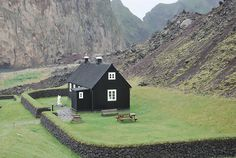 Vestmann Island, Iceland // This would be his idea of the perfect place to live…