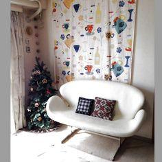 25  フレーム/クリスマス/北欧ヴィンテージタペストリー/北欧/ソファ/Swan Sofa…などのインテリア実例 - 2014-02-17 22:00:02 | RoomClip(ルームクリップ)