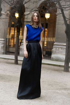 Christian Dior  Pre-Fall 2012 A little something for those who love cobalt blue