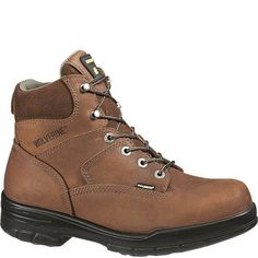 87673289c4 W02053 Wolverine Unlined Men s Safety Boots - Brown www.bootbay.com Wolverine  Work Boots