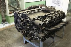 Napier Sabre II A Engine from Hawker Typhoon or Tempest