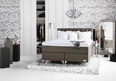 Carpe Diem Beds of Sweden   Model: Skaftö Continentalbett verstellbar   #boxspring #bed #Bett #Taschenfederkern #pocketspring #adjustable