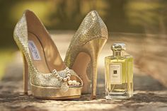 Stunning and glamorous shoes for the Bride