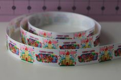3 yards 7/8 Candyland Grosgrain Ribbon by PetuniaPrincessBows, $3.05 3rd Birthday Parties, Candyland, Grosgrain Ribbon, Halloween Ideas, Ribbons, Yards