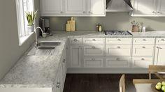 Wilsonart Italian White Di Pesco countertop