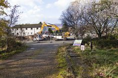 Remnants of Glenfield Hotel  2nd Nov 2014