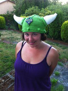 Sounders FC viking hat