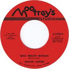 Mad Mouth Woman b/w Wahoo, Wahoo, Wahoo cover art