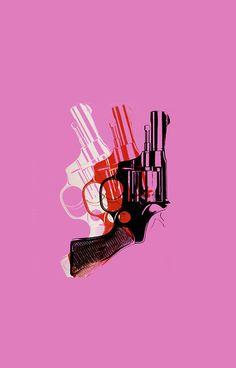 Andy Warhol guns | iPhone 6s - Snap