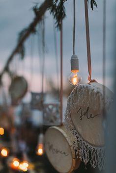 30f51ca10ce9 Wedding favor idea for southern wedding. Handwritten tamburines idea  matrimonio a tema amore con tamburelli