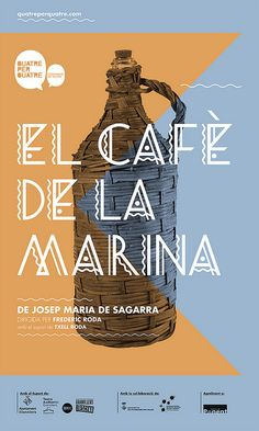 poster_cafedelamarina by toormix, via Flickr
